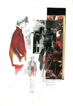 Evelina Romano - Skin Flowers #fashioncollage