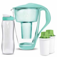 Easy Water Purification System Ideas: Insights On Quick Advice For Getting Safe Water - Prep Help Best Alkaline Water, Alkaline Water Pitcher, Alkaline Water Filter, Best Water Filter, Water Filter Pitcher, Water Filters, Hydrogen Water, Filtered Water Bottle, Water Bottles