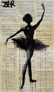 "Saatchi Online Artist Loui Jover; Drawing, ""bolshoi"" #art"
