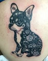 Image result for chihgoos idei but in bfiqn uahua tattoo