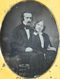 Jenny Lind and Otto Goldschmidt. Old Pictures, Old Photos, Vintage Photos, Moma Collection, Jenny Lind, Daguerreotype, Opera Singers, Edwardian Era, Museum Of Modern Art