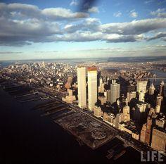 The Bowery Boys: New York City History: A strange, new skyline: World Trade Center 1971