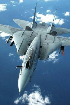 Navy Grumman Tomcat, a carrier based interceptor aircraft. Military Jets, Military Weapons, Military Aircraft, Fighter Aircraft, Fighter Jets, Tomcat F14, Photo Avion, F4 Phantom, Jet Plane