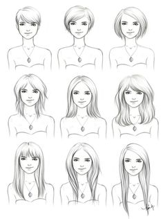 Cute pictorial showing how to grow your hair out with style :) I miss having the 1st cut, but none of the men in my life do.