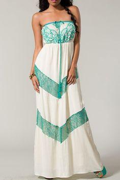 Pretty Island Maxi Dress