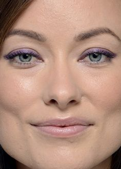 olivia wilde all pink makeup