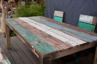 Fisherboatwood table.... Love it