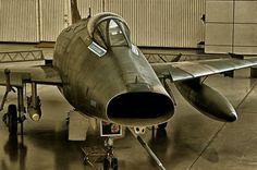 North American F-100D Super Sabre #plane #1960s