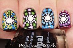 31DC2015 - Polka Dots - inspired by Elspeth Mclean ~ More Nail Polish