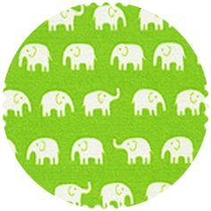 green - Daiwabo Japan Tip Top Cotton Elephant Walk Green