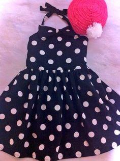 子ども用ジャンパースカート と ベレー帽 #sowing #girl