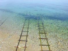 【愛媛】まるで「千と千尋の神隠し」の世界。下灘駅と、海に続く線路