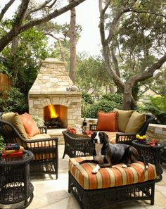 Lovely outdoor space. ...