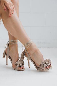 skin shoes calypso - vanilla – Esther Boutique