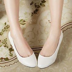 zeppa rotonde fannulloni punta scarpe da donna (più colori) – EUR € 24.99
