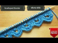 Alsacian Scallops | Pretty Lace Knitting #14 - YouTube