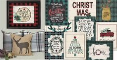 Amazing designs and deal!  We're dreaming of a plaid Amazing designs and deals. Christmas: Darling art to adorn your Holiday Home! https://jane.com/deal/245353/rustic-christmas-plaid-print-blowout