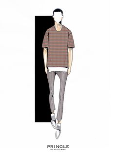 Pringle of Scotland share a sketch from their SS15 collection #LCM