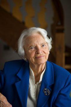 Happy 96th birthday to Mrs. Sigrid Ott, founder of the Leysin American School!