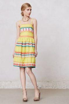 Ribboned Quilotoa Dress