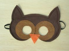 owl mask @Tracy Morgan, this would be cute for your class!!