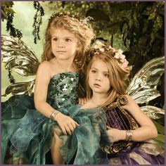 Enchanted Fairies Photography Studio in Dallas,TX...where was this place when my kids were younger ???
