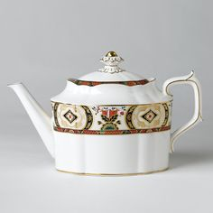 "Royal Crown Derby ""Chelsea Garden"" Teapot"