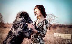 "Mein @Behance-Projekt: ""The girl & the wolfhound"" https://www.behance.net/gallery/50708111/The-girl-the-wolfhound"