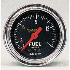 15 best Fuel Pressure Regulator images on Pinterest | Fuel injection Fuel Wiring Diagram Autometer Press on