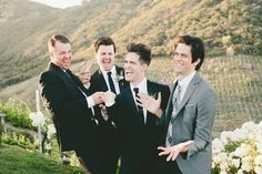 WHY IS DALLON'S SUIT A DIFFERENT COLOR<<<BECAUSE HE'S SPECIAL