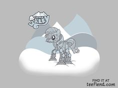 """My Little Walky"" by Arinesart is only $10 today at ShirtPunch http://www.teefiend.com/3735/my-little-walky/"
