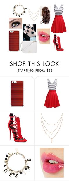"""""""going out"""" by meriem-asma ❤ liked on Polyvore featuring Giuseppe Zanotti, Dolce&Gabbana, Charlotte Tilbury and Furla"""