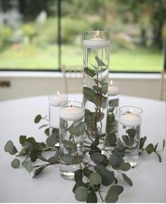 Wedding Reception Centerpieces, Candle Holders, Candles, Stylish, Simple, Wedding Ideas, Porta Velas, Candy, Candle Sticks