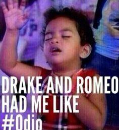 Omg hell yes ! ♥ DRAKE & ROMEO SANTOS ♡♡♡