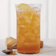 Ginger and honey sweet tea