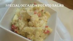 Cooking From Scratch:  Special Occasion Potato Salad, Plus Homemade Mayo...