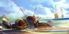 бой на море - Поиск в Google