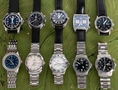 Our update today is all steel and hosts watches from Omega, Sinn, Breitling, and a TAG Heuer Monaco. Tag Heuer Monaco, Popular Watches, Mechanical Watch, Whats New, Breitling, Omega, Steel, Steel Grades, Mechanical Clock