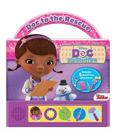 Doc McStuffins to the Rescue Board Book | zulily