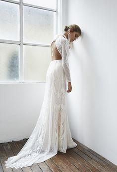 Check out Blanc, the cool, sexy, modern, and all-round gorgeous Grace Loves Lace wedding dress collection. We reckon you're going to love it. Dream Wedding Dresses, Wedding Gowns, Lace Wedding, Wedding Blog, Wedding Ideas, Grace Loves Lace, Bride Look, Boho Bride, Illusion Neckline Wedding Dress