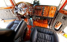 The Hog Ring - Auto Upholstery Community - Custom Big Rig Interior 3