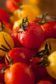 brenthofacker:  Heirloom Cherry Tomatos  Nom Nom Photography