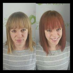 Makeover by Sarah at salon deZEN