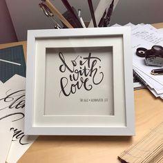 Motivations-Schriftkunstwerk für Susie Bauer, Künstlerin aus Neckarsulm