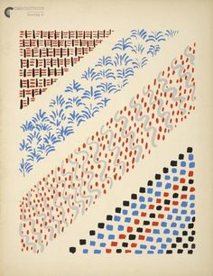 Sonia Delaunay - co-founded the Orphism art movement with her husband, noted for its use of strong colours and geometric shapes. She painted, designed fabrics, clothing and incorporated her designs into furnishings. Motifs Textiles, Textile Patterns, Textile Prints, Textile Design, Print Patterns, Quilt Design, Sonia Delaunay, Mark Making, Art Graphique