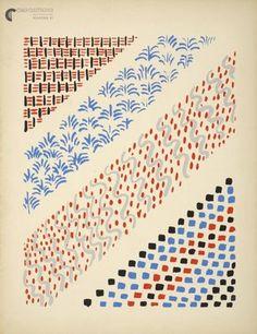 Sonia Delaunay  en atelier graphisme avec adhésif pour délimiter espace