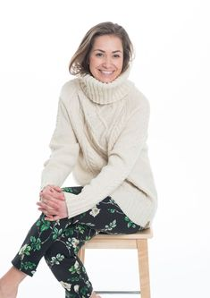 Eco Svingom genser - A Knit Story Turtle Neck, Knitting, Sweaters, Fashion, Threading, Model, Moda, Tricot, Fashion Styles