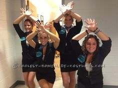 Easy All-Girl Group Halloween Costume: Pitch Perfect Barden Bella's