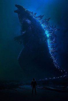Godzilla: King of the Monsters All Godzilla Monsters, Godzilla Comics, Godzilla Godzilla, Megalodon, Dark Creatures, Fantasy Creatures, Godzilla Tattoo, Godzilla Franchise, King Kong Vs Godzilla