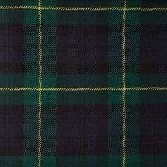 GORDON (Modern) GL011 100% Wool 10.5oz Tartan. Woven in Yorkshire by Marton Mills. Wool Fabric, Design Show, Yorkshire, Tartan, Swatch, Weaving, Coding, Pure Products, Modern